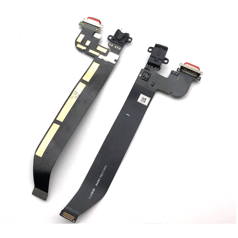 USB Charging Port Flex For Oneplus 5 A5000 5T A5010 Dock Connector Charging Port Flex Cable With Earphone Jack Plug Board