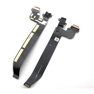 Гибкий usb-порт для зарядки Oneplus 5 A5000 5T A5010 док-коннектор, зарядный порт, гибкий кабель с разъемом для наушников