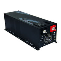 DECEN 24V 5000W Peak Power10000W Off Grid Pure Sine Wave Solar Power Inverter With Charger LCD
