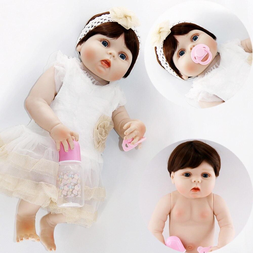 23 pieno di Silicone Reborn Baby Girl Doll Toy Realistica lol originale infantile bambole bambole del bambino della casa del gioco bonecas rosa lol principessa23 pieno di Silicone Reborn Baby Girl Doll Toy Realistica lol originale infantile bambole bambole del bambino della casa del gioco bonecas rosa lol principessa
