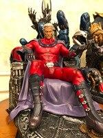 Высокое качество 1/4 масштаб X men Смола Магнето статуя Recast HT фигурки коллекции
