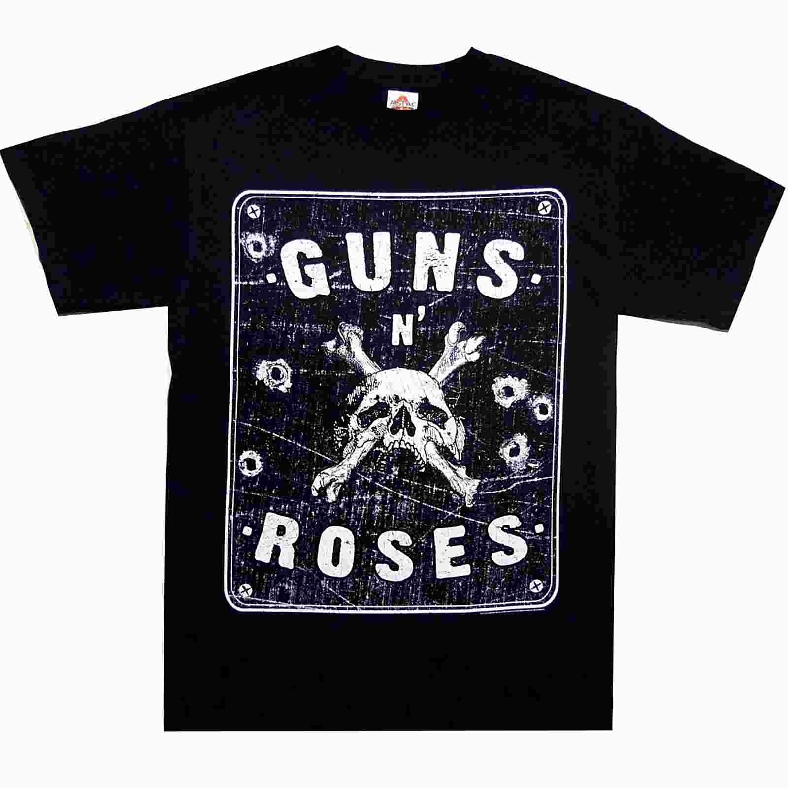 Guns N Roses Street Sign S M L Xl Official T Shirt Rock Band Tshirt New