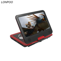 LONPOO 10 1 Inch Portable DVD Player With TFT LCD Screen Multi Media Dvd Player With