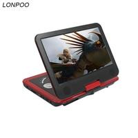 LONPOO 10.1 inch Draagbare Dvd-speler met TFT Lcd-scherm Multi media dvd-speler Met Analoge TV en game functie Dvd-speler