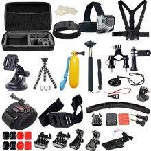 Accesorios Acessorios Para Sj5000 Gopro Go pro Hero 1 2 3 4 xiaomi yi sjcam sj4000/as100v/i sony fdr-x1000v/w 4 k cámara de acción