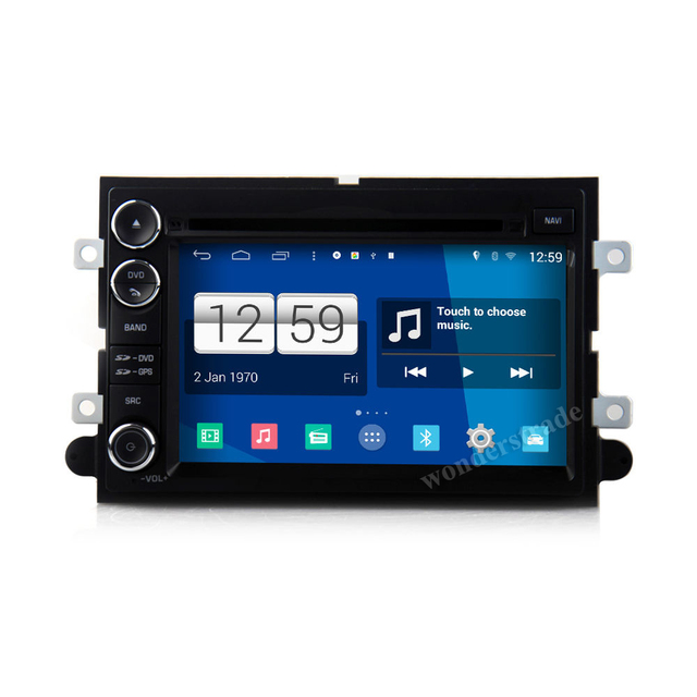 """7"""" Car DVD Player  Radio stereo + GPS for Ford Fusion Explorer  Edge Expedition Mustang F250 F350 + 3G internet  Free  map"""