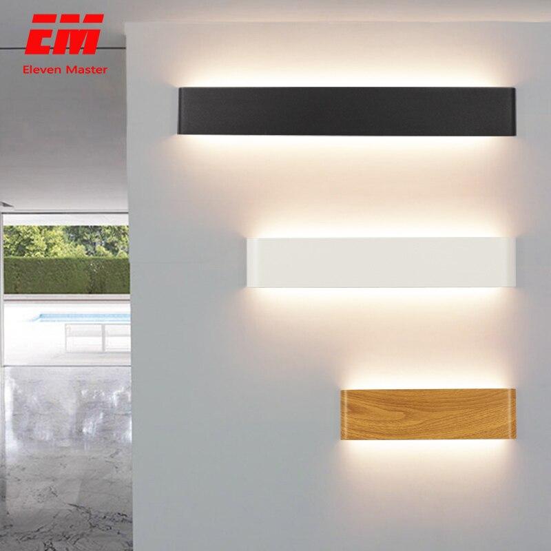 Modern led duvar ışığı fikstür merdiven aydınlatma aplik lamba başucu lambası duvar lambası banyo aynası ışık AC110 ~ 260V ZBD0001