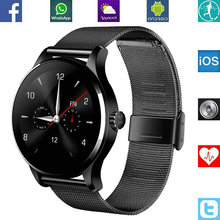 Original Smart Watch for SmartPhone Wristwatch MTK2502 Bluetooth K88H Heart Rate Monitor Pedometer Dialing For Android IOS SE