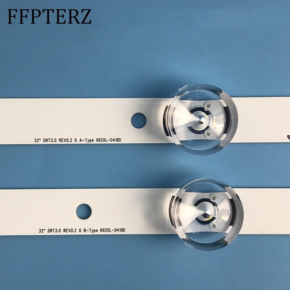 Trend Mark Brand New 59cm Led Backlight 6leds For Lg Innotek Drt 3.0 32_a/b 6916l-1974a 1975a 1981a Lv320due 32lf5800 Sung Wei 55vo E74739 Computer & Office