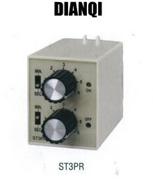 ST3PR electrical time relay Electronic Counter relays digital timer relay with socket base AC 110V/ DC24V switch cg8 digital counter ac 110 220v
