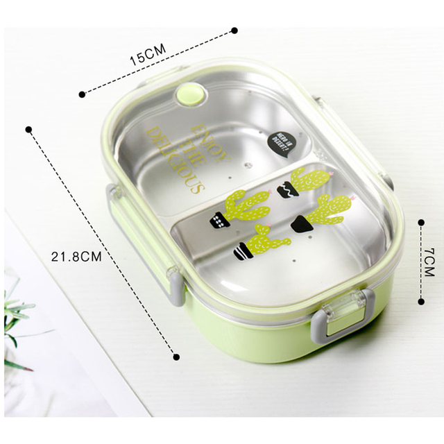 Stainless Steel Japanese Lunch Box For Kids