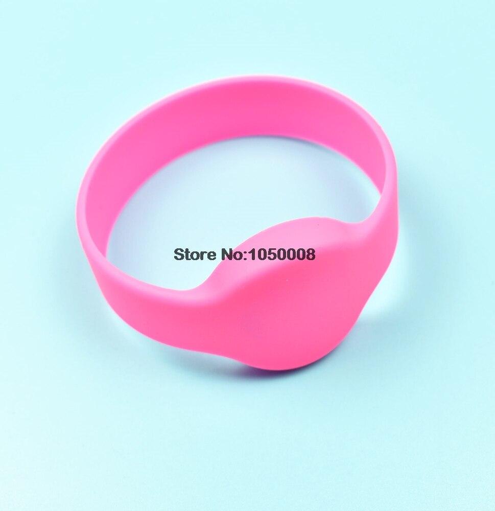 5pcs 125khz RFID EM4100 TK4100 Wristband Bracelet Silicone Waterproof ID Card 5 125