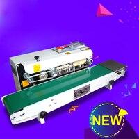 Nuevo Máquina de sellado automático FR800 máquina de sellado de película continua de aluminio y plástico máquina
