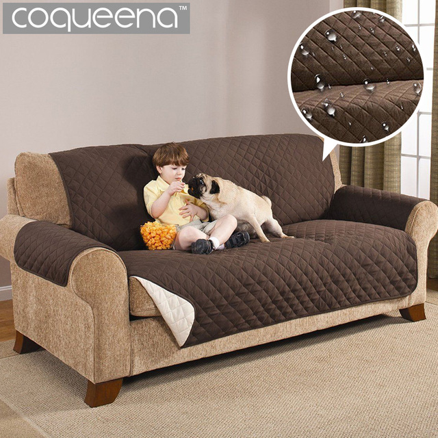 waterproof quilted sofa couch covers cloak furniture protector for rh aliexpress com slipcover for sofa chair sofa chair covers walmart