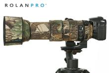 ROLANPRO Waterdichte Lens Camouflage Jas Regenhoes voor Sigma 60 600mm f4.5 6.3 DG OS HSM Sport lens Beschermhoes Guns Doek