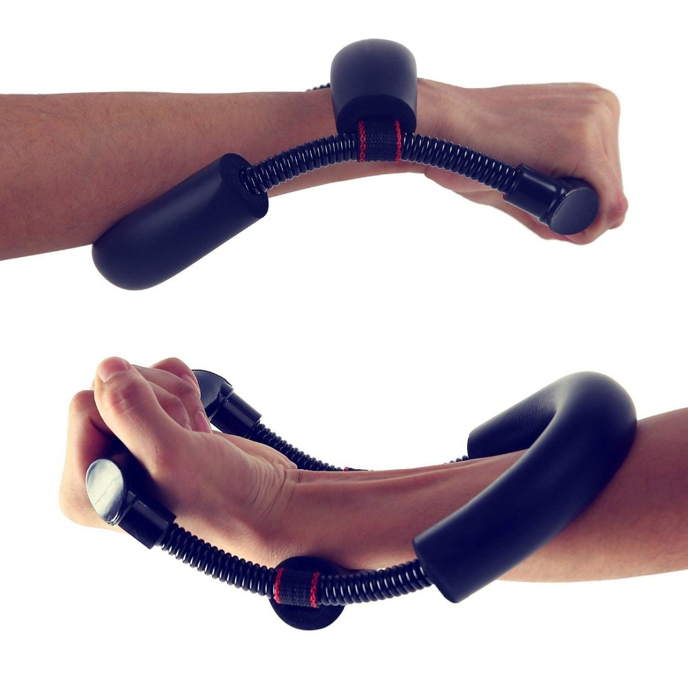 Grip Power Wrist Forearm Hand Grip Exerciser Strength Training Device Fitness Muscular Strengthen Force Fitness Equipment image