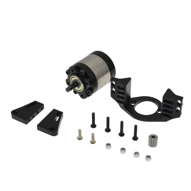 1set Metal Gearbox 1:5 Planetary Gear Box for 1/10 RC Crawler D90 Axial Tamiya Truck