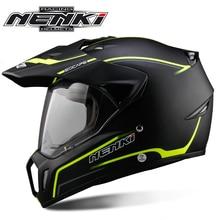 NENKI черный мотоциклетный шлем полный шлем для мотокросса мужские Приключения Горные DH гонки Casco Мото шлем ECE