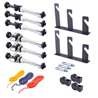 Photography 3 Roller Wall Mounting Manual Background Support System  CD50
