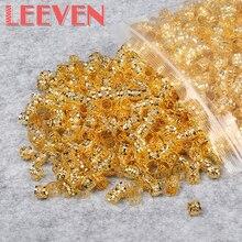 200 шт./лот бусины дреды красный золотой серебряный смешанный цвет шарик для волос для дредов волосы кольца плетение отверстие микро кольцо