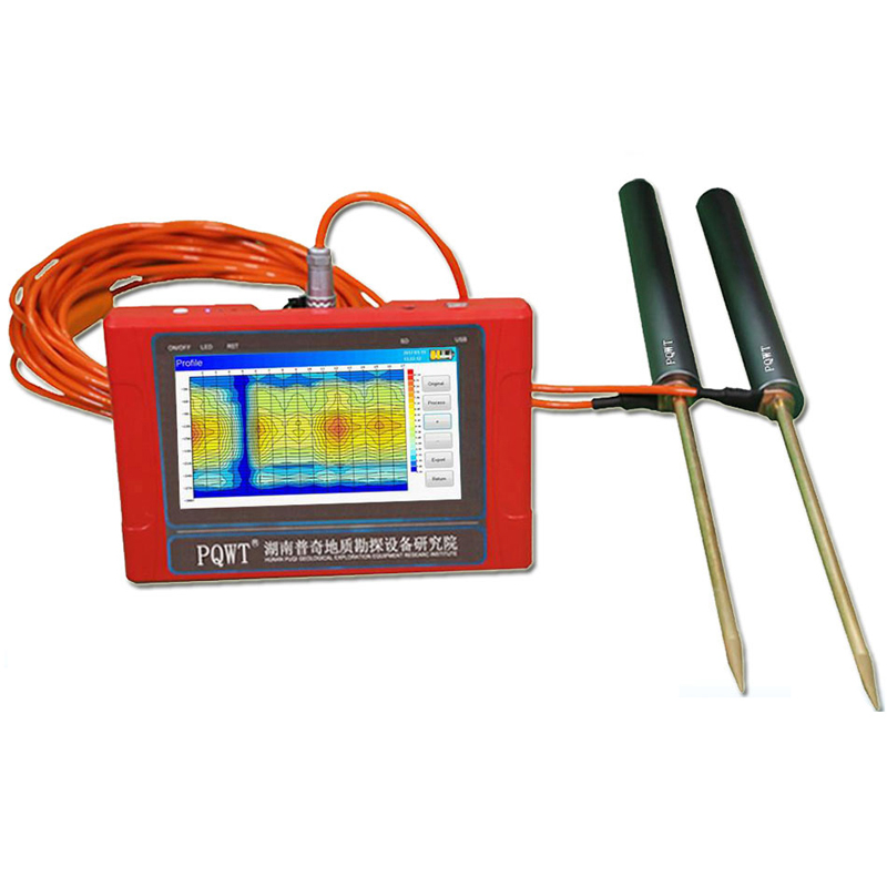 Подземный детектор воды с большим радиусом действия для бурения скважин на скважину, для использования с устройствами, работающими на расс...