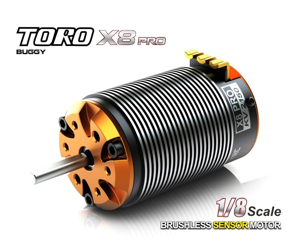 GoolRC 4076 2000KV 4P Sensorless Brushless Motor for 1/8 RC Monster ...