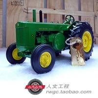 Deere модель R precission из золотистого металла Трактор Сельскохозяйственная модель автомобиля ERTL 1:16