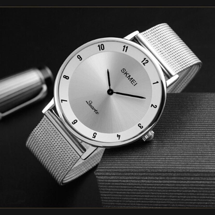 30M Waterproof 6mm Ultra Thin Men's Business Quartz Watch Teen Fashion Watch Relogio Masculino Watch Men Reloj Hombre Bayan xd342 2015 dz reloj 30m dz4563