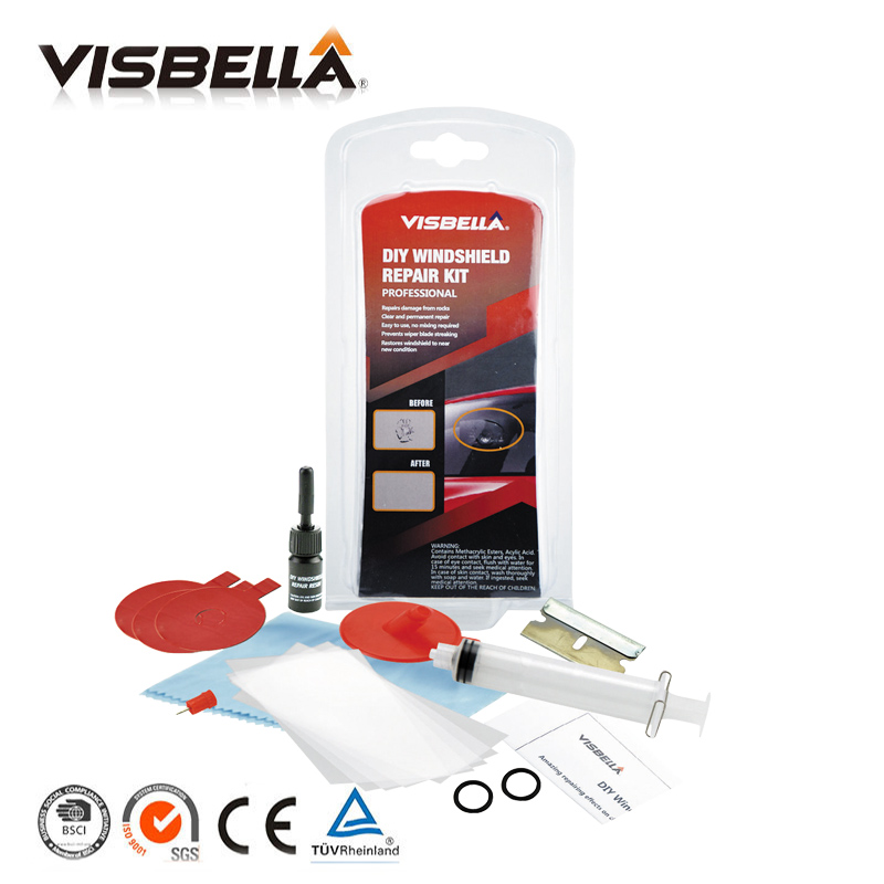 IN STOCK FAST DELIVERY Car Windscreen Glass Repair Tools Auto Windshield Scratch Chip Crack Restore fix Window Polishing Kit DIY visbella leather repair glue kit vinyl color paste for car seat fur clothing leather boots rips fix crack cuts restoration tools