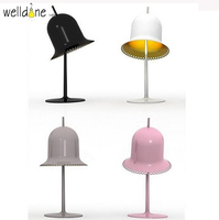 Italy design ringbell table lamp mordern light for bedroom decoration reading lights 90 265V art and simplify