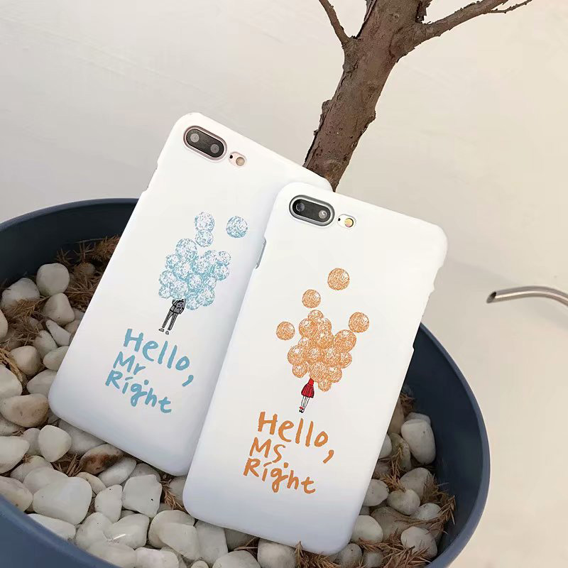 Fashion Cute Case For iPhone X 7 8 6 6S carrot cactus rabbit Lovers Animal Phone Cases Matte Hard PC Back Cover For iPhone 6 7 8