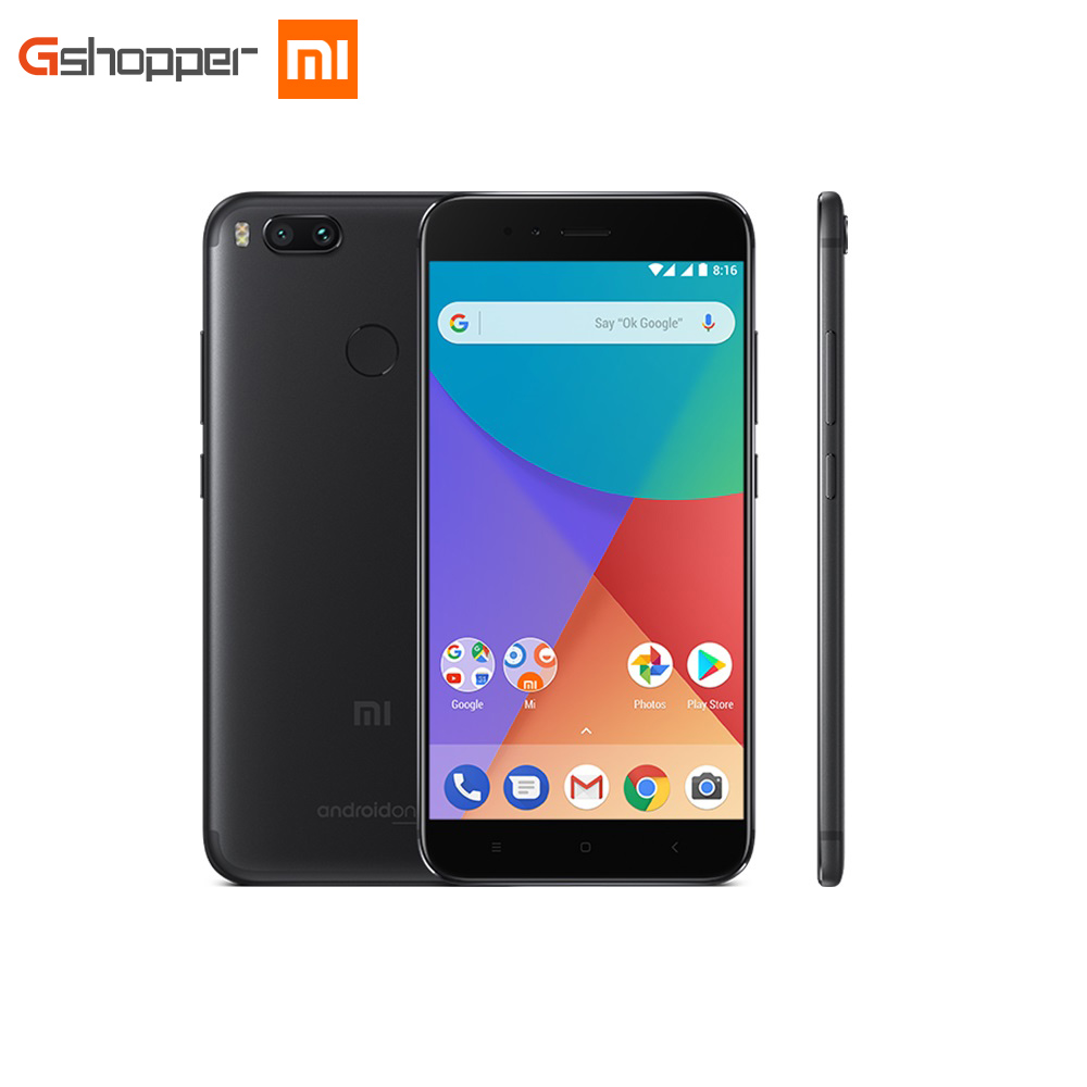 Global Version Xiaomi Mi A1 4GB 64GB Mobile Phone Octa Core Snapdragon 625 Cellphone 5 5