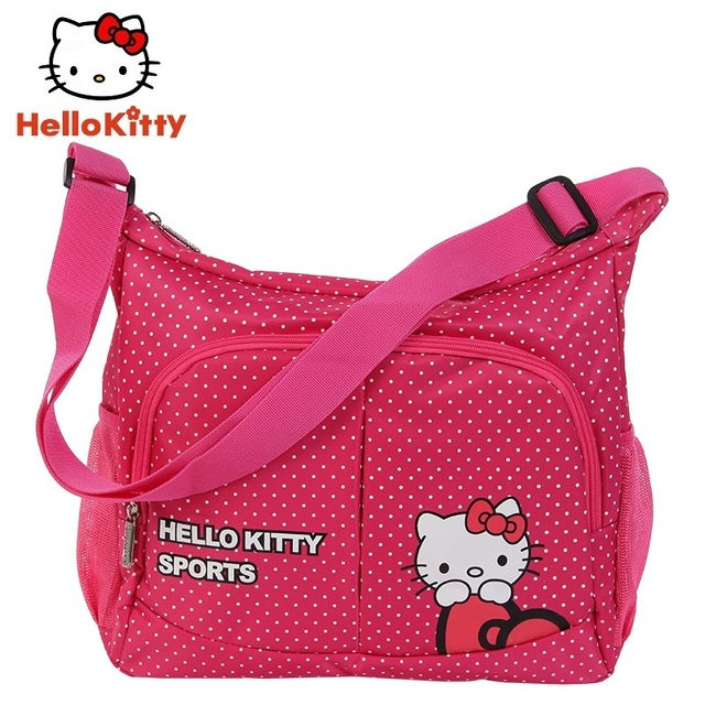f8f95cbcb754 Hello Kitty Sports Bags women Girl New Cute Running Bag Outdoor Bag  HHB44880(dot)