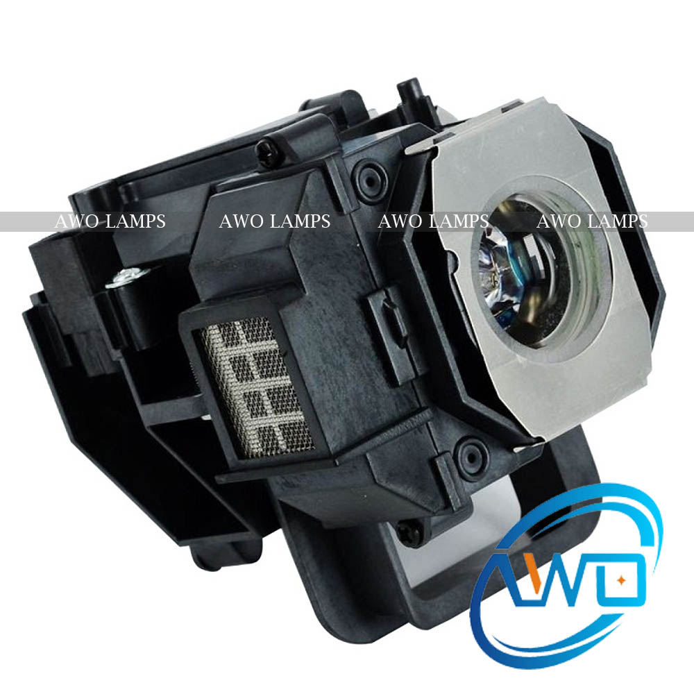 ФОТО AWO Projector Lamp ELPLP49/V13H010L49 For EPSON EH-TW3600/PowerLite HC 8350/EH-TW3200 Replacement with Housing