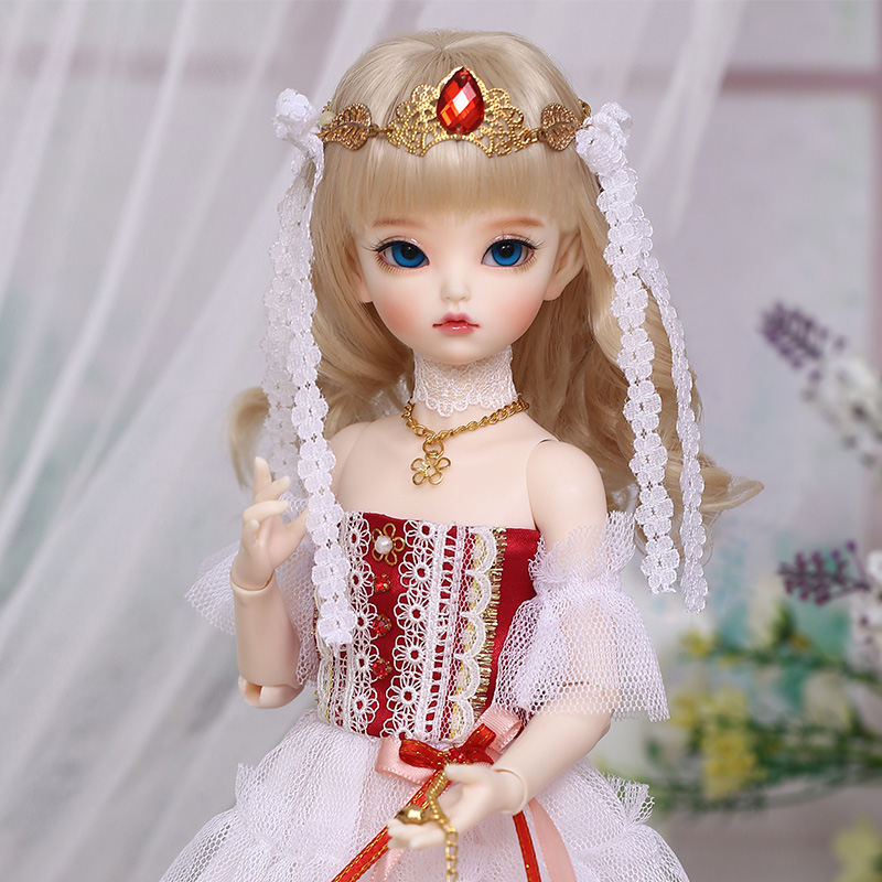 Dollmore 1//4 BJD MSD White LAST ONE Star Chain Boots