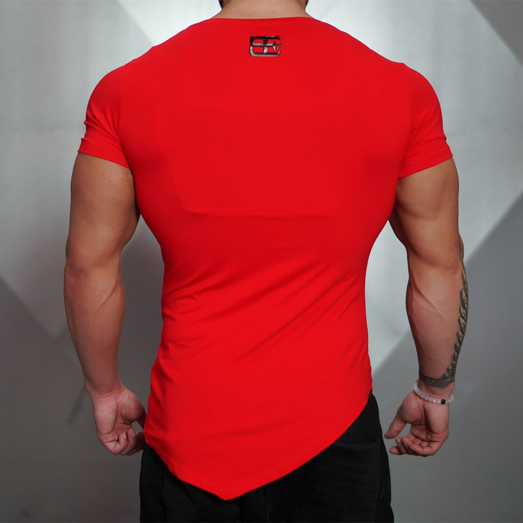 6e2eda542b8 2016 New Fashion Tops 100% Compression T Shirts Men Gasp Muscle ...