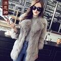 The new women's winter coat sleeve seven fox fur coat