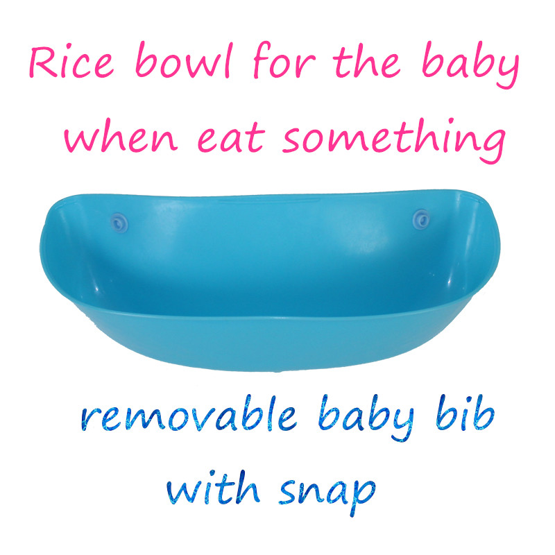EVA Baby Pocket Slabbetjes Waterdicht Voeden Bib Eat Pocket Speeksel - Babykleding - Foto 5