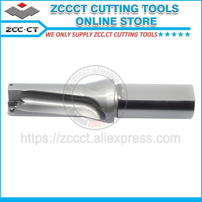 ZCCCT cutting tool shallow drill bit ZTD02 300 XP32 SP09 02 2X 30mm diameter