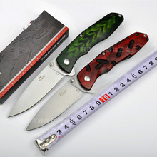 Free shipping  ENLAN tactical Folding Knives 8Cr13Mov Blade Wood handle Camping Outdoor knife Survival Knives Pocket EDCTools