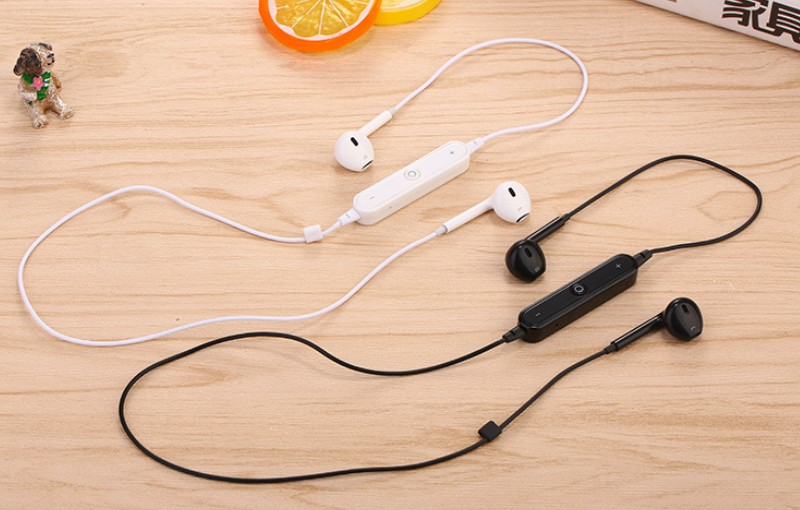 KEITHNICO 1PC Bluetooth 4.1 Sport Wireless Earphone Stereo Running Earbus With Mic Waterproof Noise Cancelling