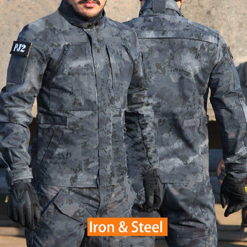 Esercito Militare Giacche Equipment Airsoft Paintball Abbigliamento di Combattimento Tattico Camicia