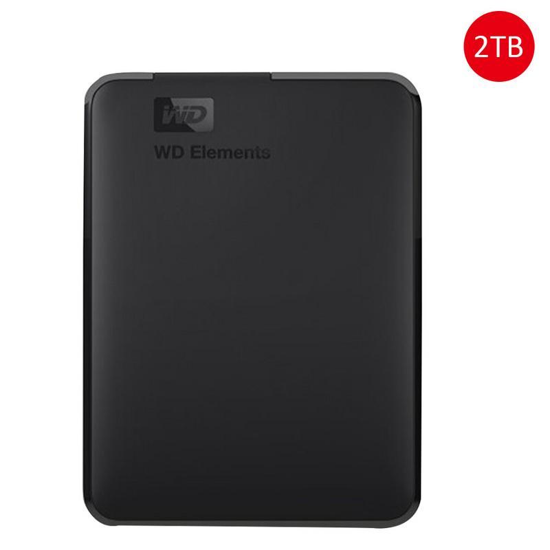 WD Elements Nouveau Élément Série 2.5 USB3.0 Mobile Disque Dur 4 tb Disque Dur Externe Portable