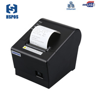 High Quality 58mm Pos Thermal Receipt Printer Support Windows10 Small Bill Printer With Auto Cutter Used