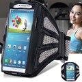 À prova d' água esporte caso faixa de braço para samsung galaxy s7/iphone 7 acessórios de telefone braço saco corrida ginásio banda pounch tampa da correia