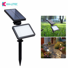 KHLITEC 48 LED Solar Light Portable Energy Lamps IP65 Home Yard Outdoor Lighting Led Garden Pathway Wall Lamp