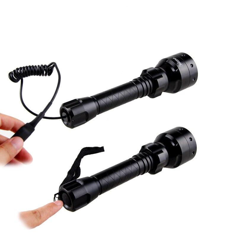lanterna carregador scope lanterna tocha zoomable kit set 03