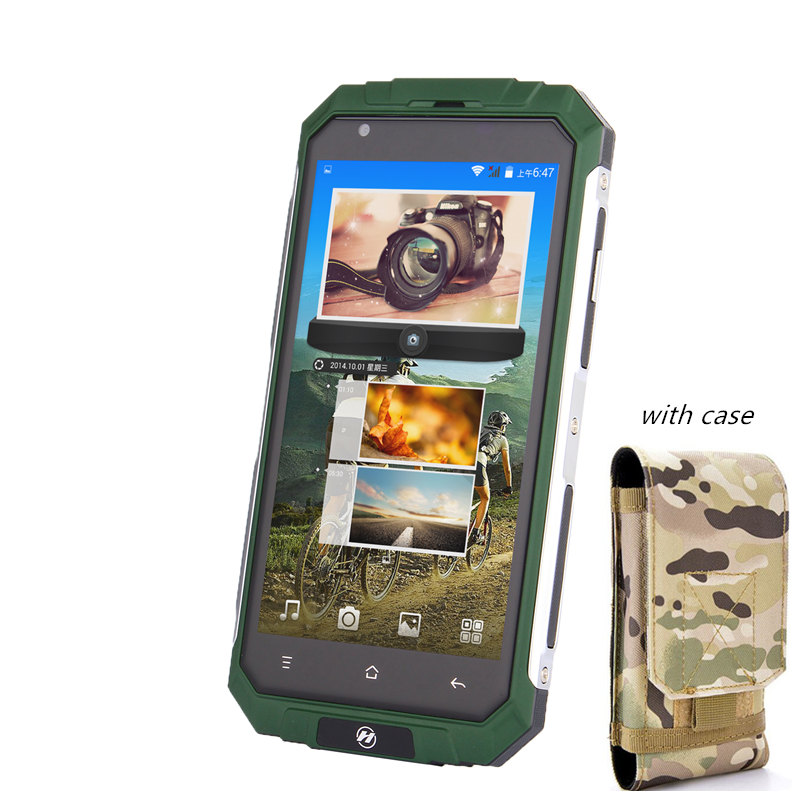 with phone case 3G WCDMA gsm 5 0 shockproof Quad Core android smartphone cheap phones China