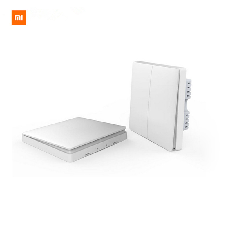 Original Xiaomi Smart home Aqara Smart Lichtsteuerung ZiGBee Wireless Key und Wandschalter Über Smarphone APP Fernbedienung Per Xiaomi