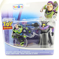 Anime Dos Desenhos Animados Toy Story 3 Buzz Lightyear & Zurg PVC Figuras de Ação Brinquedos Colecionáveis DSFG179